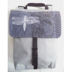 sac à dos gris pâle